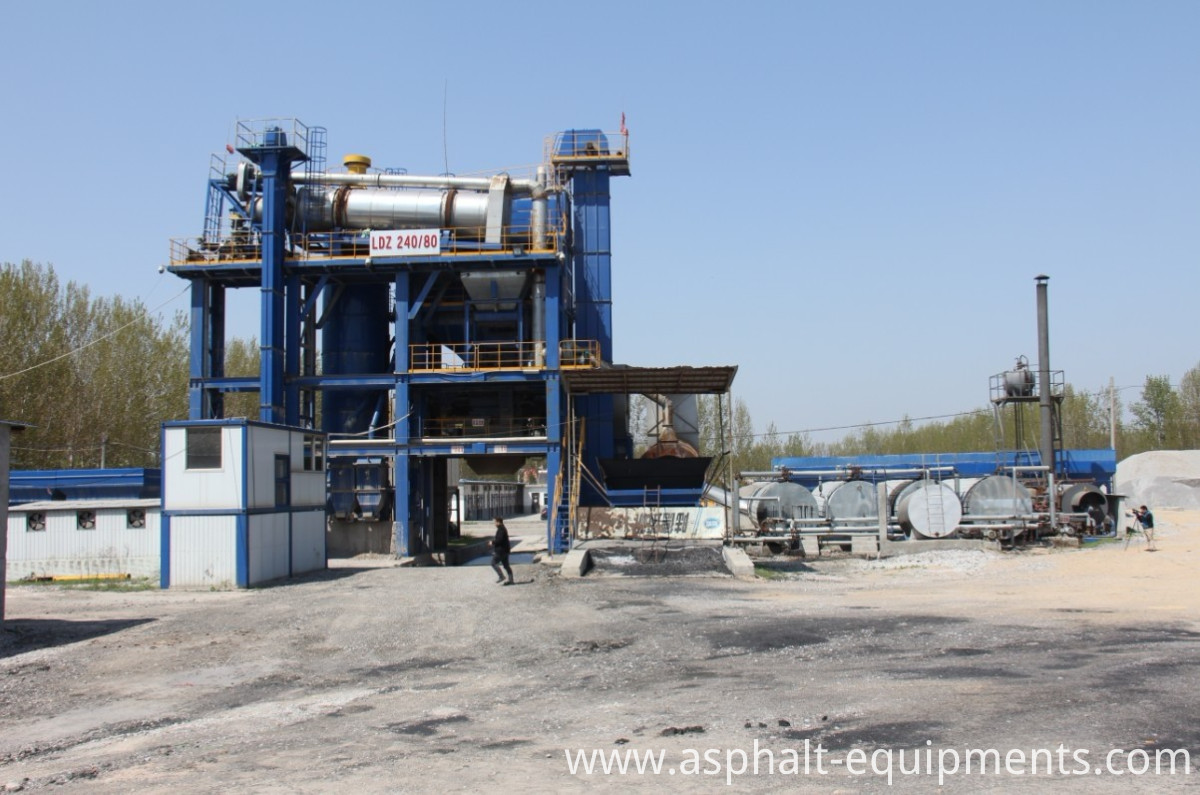ZLB80 Asphalt recycling mixers-1